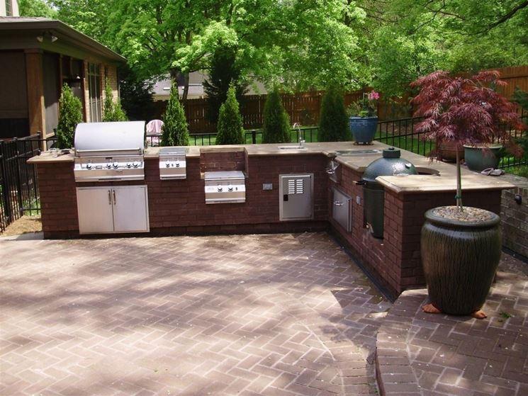 cucine componibili » cucine componibili da esterno - ispirazioni ... - Cucine Da Esterno Ikea