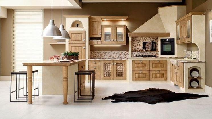 cucine finta muratura per la casa