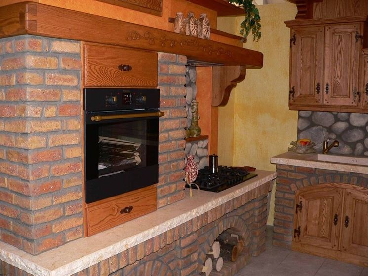 Cucine In Muratura Rustiche