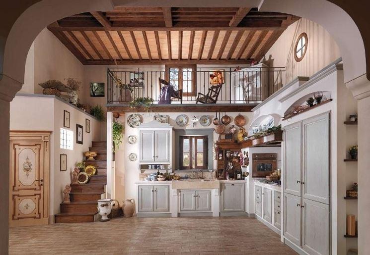 Cucine in muratura rustiche - La cucina - Caratteristiche delle cucine in muratura