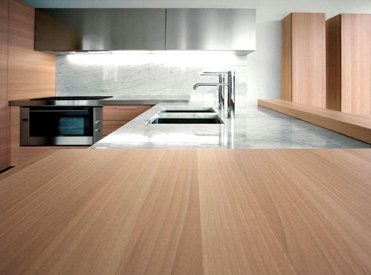 cucine moderne in legno - La cucina - le principali cucine moderne in legno
