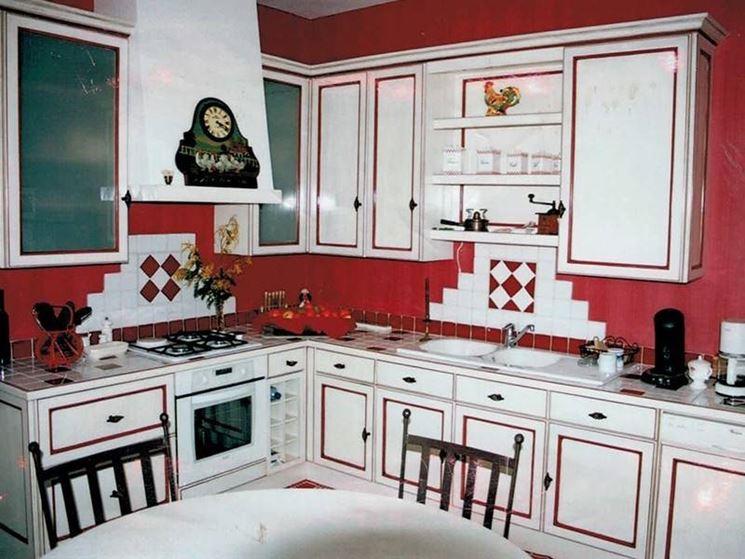 Pitturare Cucina. Cool Tecniche Speciali Per Dipingere Pareti ...