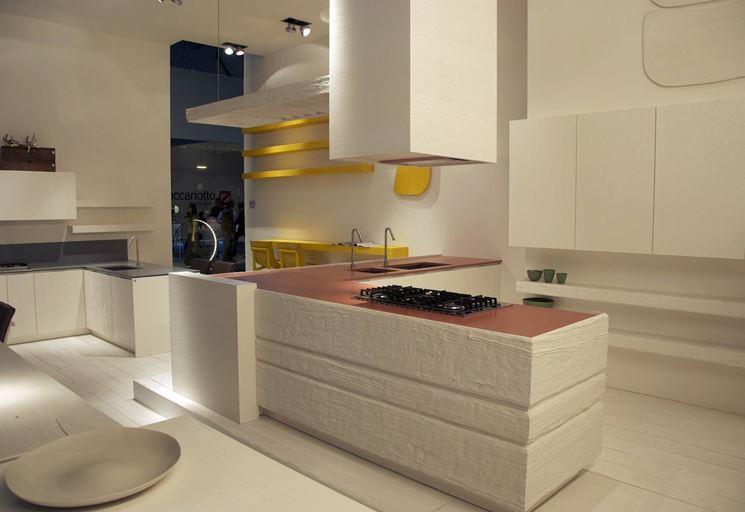 Il legno per la cucina di design