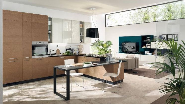 cucina con open space