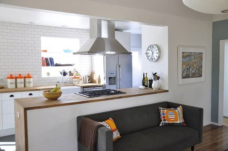 Vantaggi della cucina soggiorno la cucina vantaggi della cucina soggiorno - Living room idea for small space plan ...