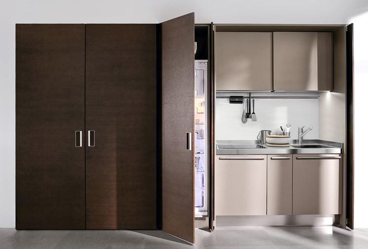 Vantaggi delle cucine monoblocco la cucina cucine monoblocco - Cucina a scomparsa economica ...