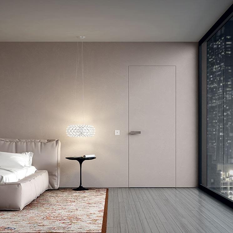 Caratteristiche porte a filo muro le porte porte a filo muro tipologie e differenze - Porta a filo muro prezzi ...