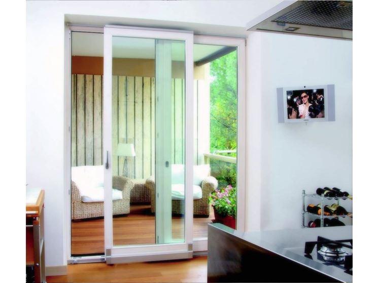 Montare portefinestre scorrevoli le porte come montare for Finestre e porte moderne