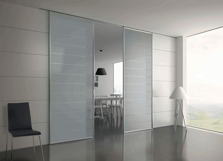 Porta scorrevole fai da te le porte porte scorrevoli - Porta vetro scorrevole prezzo ...