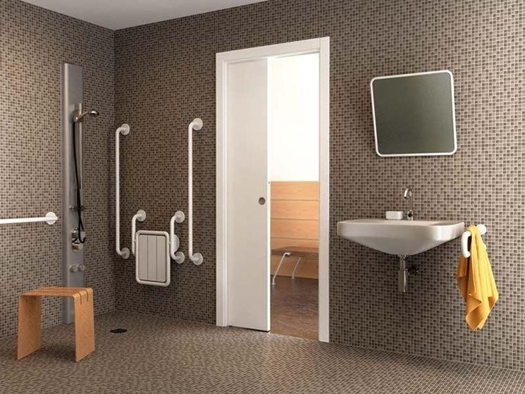 Porte scorrevoli a scomparsa le porte caratteristiche - Porte scorrevoli bagno ...