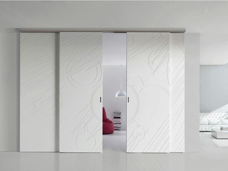Porte scorrevoli a scomparsa - Le porte - Caratteristiche delle porte ...