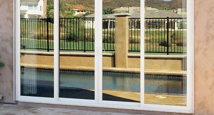 Porte scorrevoli in vetro le porte lavori in casa - Porta scorrevole vetro offerta ...