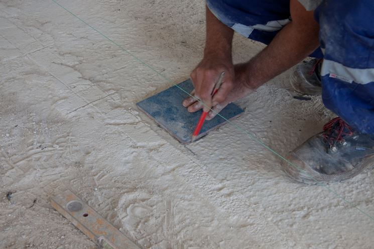Rifacimento della pavimentazione