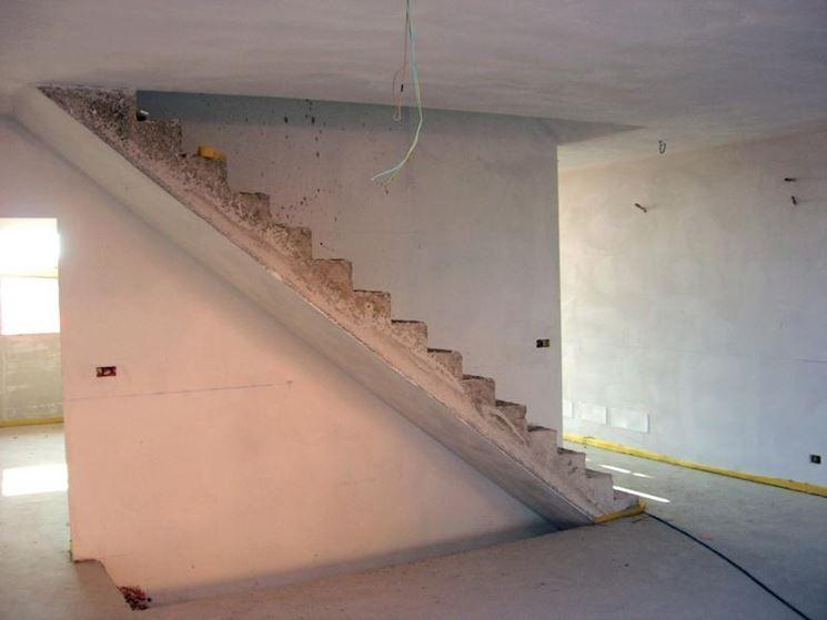 Delle scale in cemento armato with scale in muratura per for Comprare una casa di legno