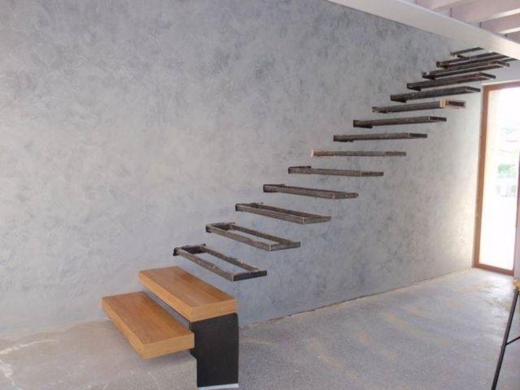 Installazione gradini in cemento armato