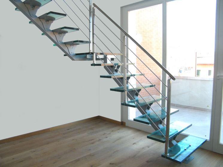 Caratteristiche delle scale in vetro - Scale e ascensori - Tipologie ...