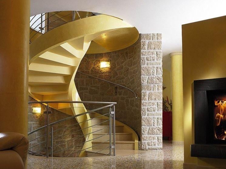 Caratteristiche scale prefabbricate scale e ascensori - Scale ad angolo ...