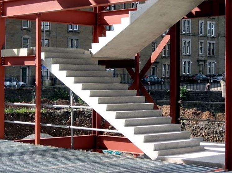Rampa prefabbricata in cemento armato