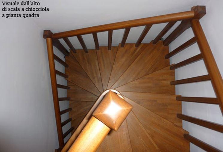 Come installare scale quadrate scale e ascensori for Piani quadrati a chiocciola