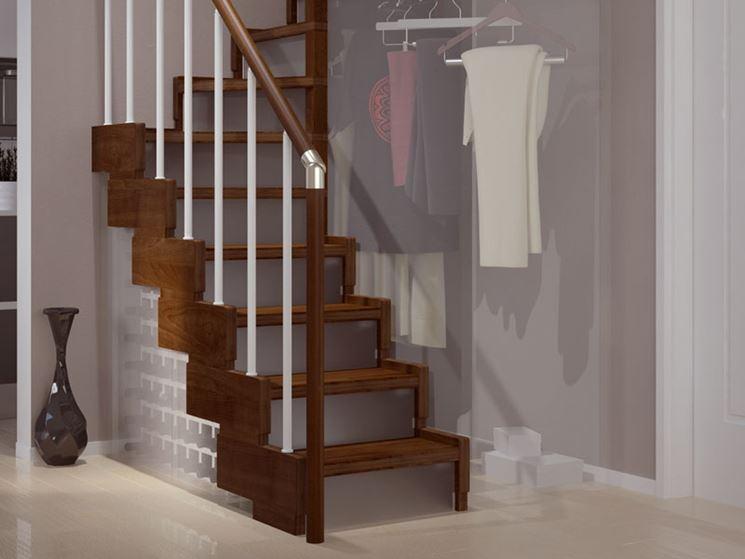Come installare scale quadrate scale e ascensori - Scale interne in poco spazio ...