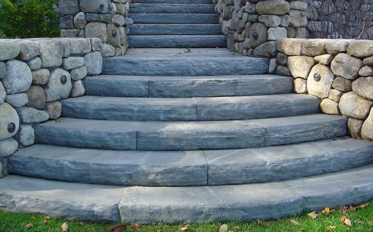 La scala scale e ascensori consigli utili per realizzare la scala interna e esterna - Scala da giardino ...