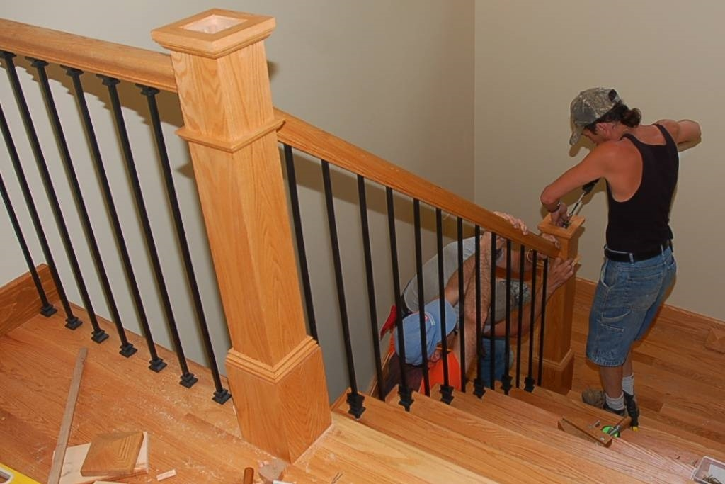 Materiali ringhiere interne scale e ascensori materiali per ringhiere interne - Ringhiere scale interne in legno ...