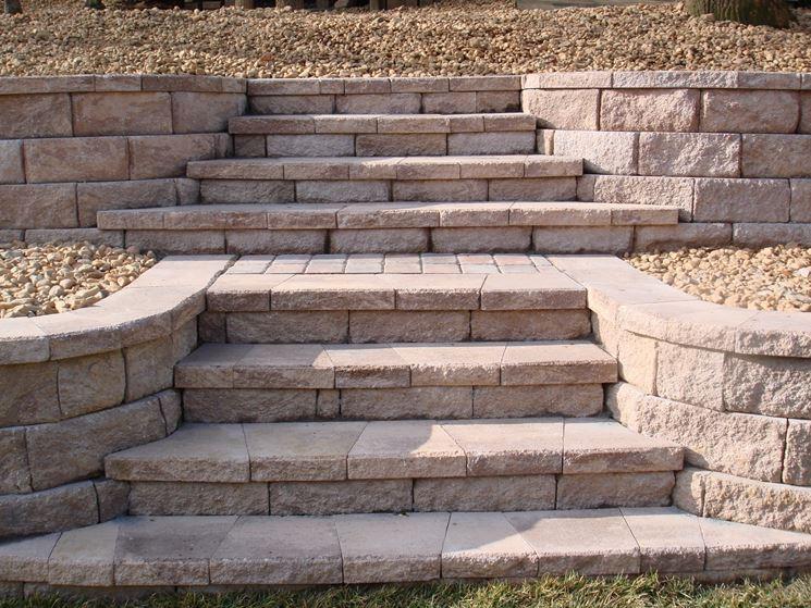 Scale Da Esterno In Pietra : Realizzare scale in muratura scale e ascensori scale