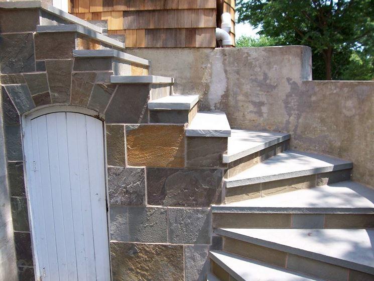 Realizzare scale in muratura scale e ascensori scale - Scale da esterno in muratura ...