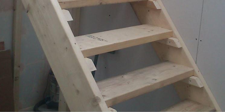 Scala fai da te scale e ascensori come costruire una scala for Come progettare una casa da costruire