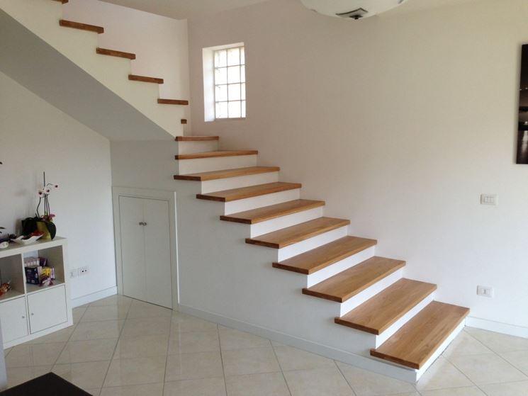 Ringhiere scale in legno fai da te design casa creativa - Scale rivestite in legno per interni ...