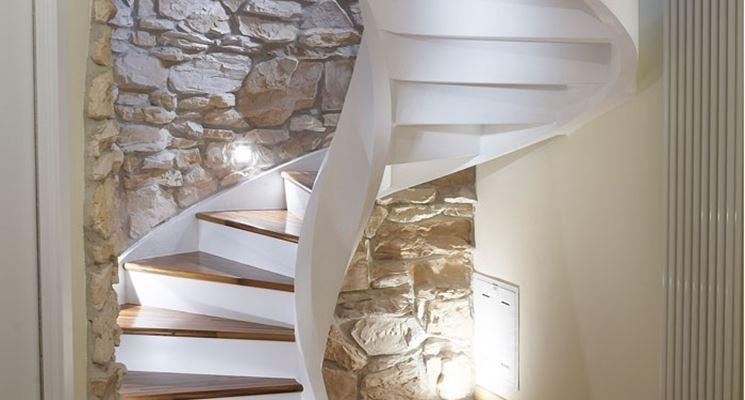 Scale a chiocciola dimensioni scale e ascensori for Disegnare una scala a chiocciola con autocad