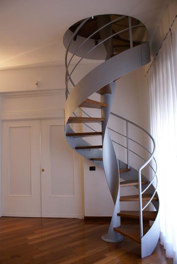 Scale a chiocciola dimensioni scale e ascensori for Casa scala a chiocciola