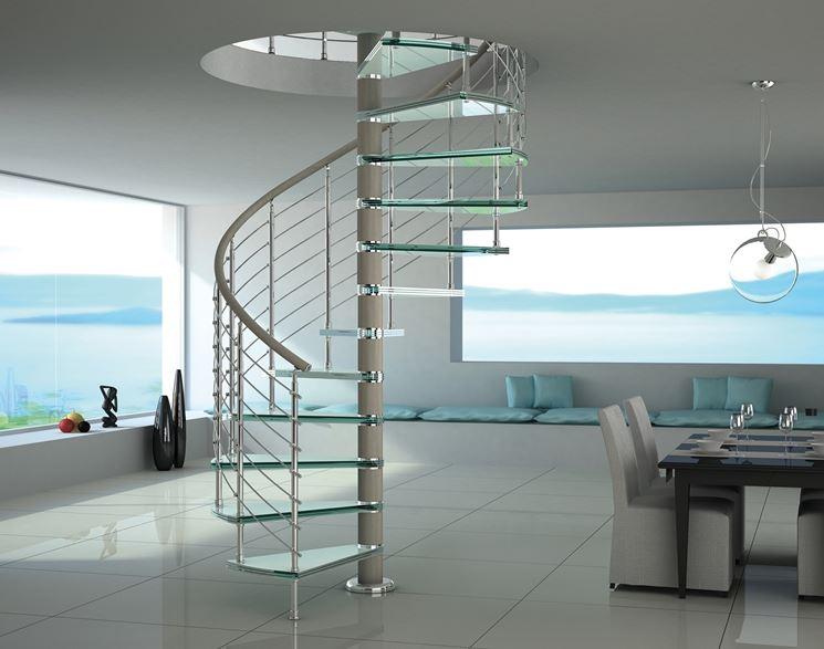 Scale a chiocciola prezzi scale e ascensori scale a - Prezzi scale per interni prefabbricate ...