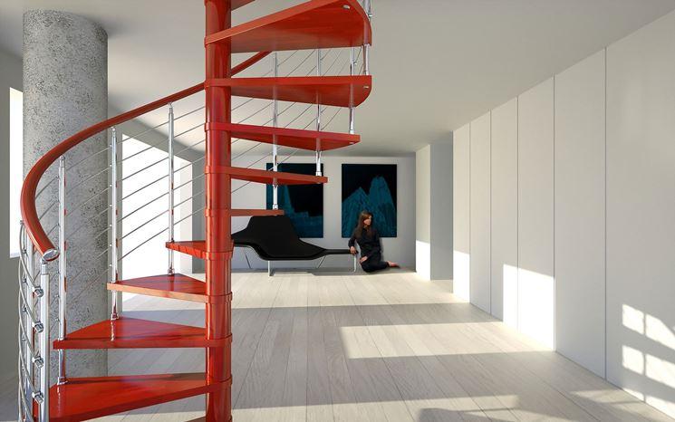 Scale a chiocciola prezzi scale e ascensori scale a - Prezzi scale per interni ...