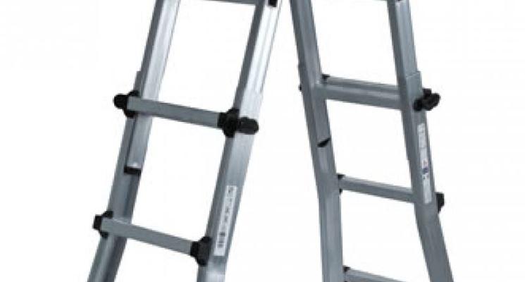 scale alluminio doppia salita