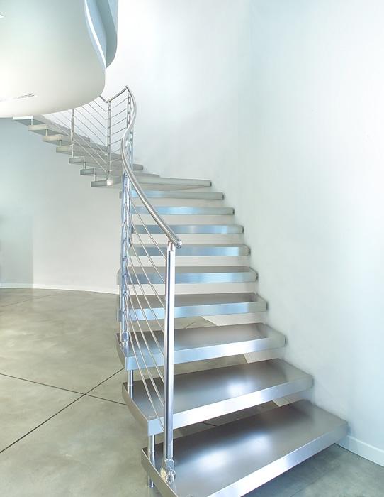 Scegliere le scale in acciaio scale e ascensori scale - Casa in acciaio prezzo ...