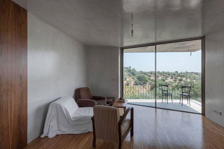 Gli infissi in ferro sono usati soprattutto in abitazioni di stile moderno