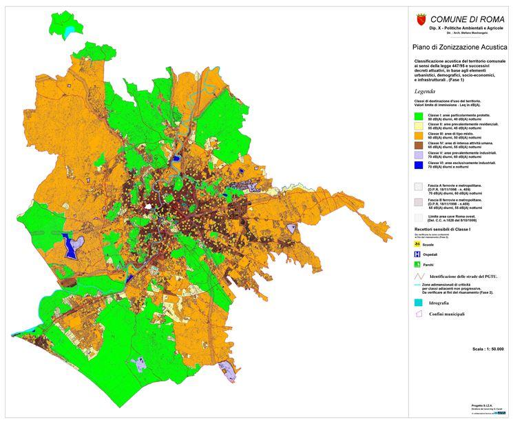 Zone censuarie a Roma con relative caratteristiche