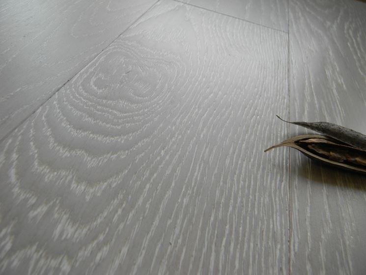 Un esempio di parquet decapato