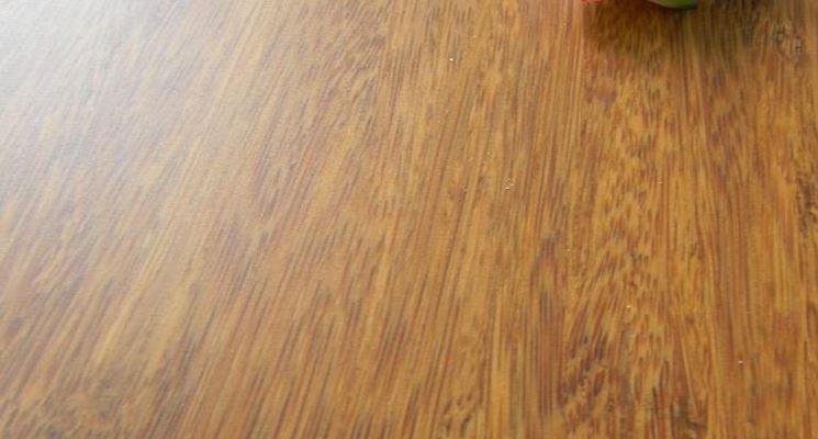 esempio di parquet in bamboo strand woven.