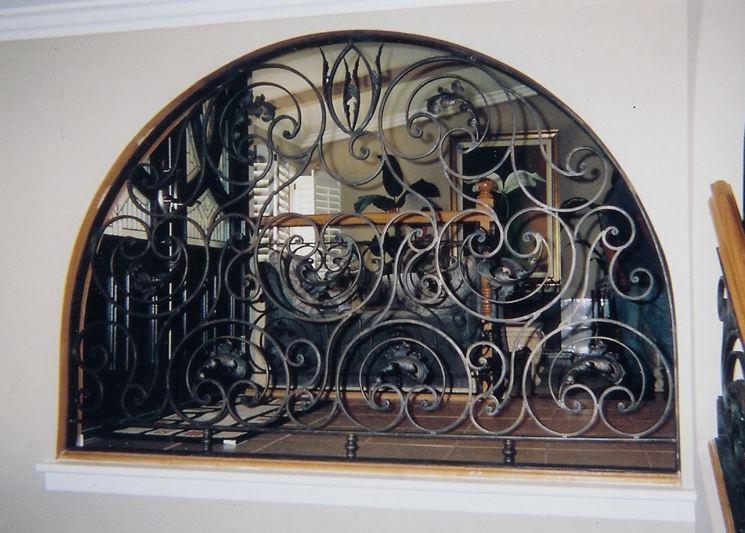 Design finestra in ferro