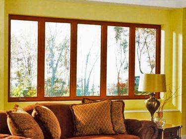 L'estetica è il vero punto di forza delle finestre in legno