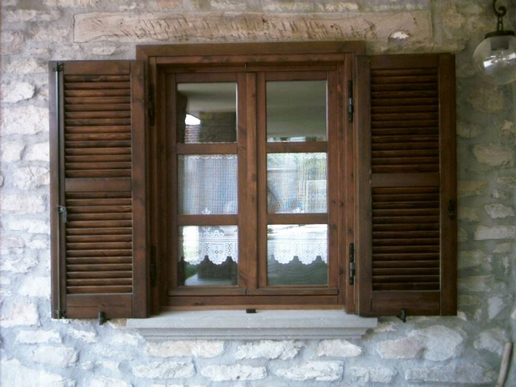 Le finestre in legno assicurano molti vantaggi