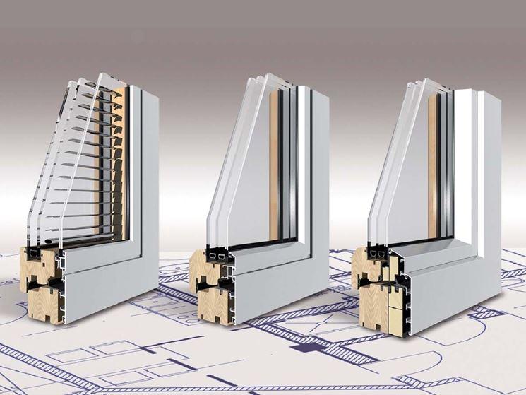 Esempio struttura interna serramenti