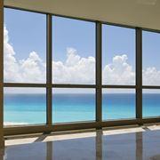finestra in alluminio mare