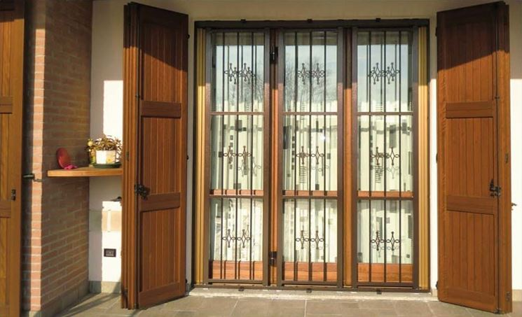 portefinestre legno esterno