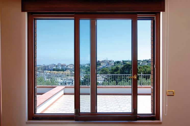 Installare le vetrate scorrevoli le finestre come for Porte scorrevoli pvc