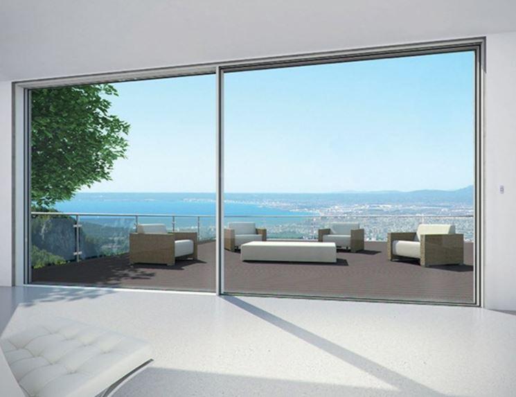 Installare le vetrate scorrevoli le finestre come - Scheda tecnica finestra ...