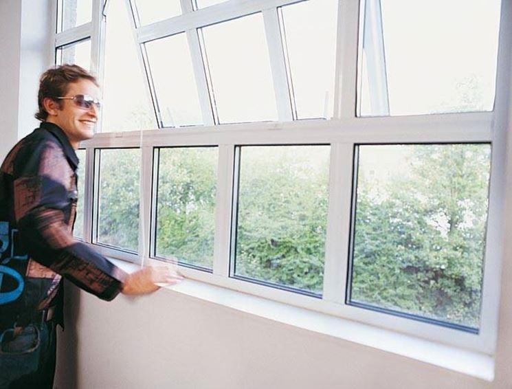 Le finestre in alluminio sono molto robuste e non necessitano di grande manutenzione