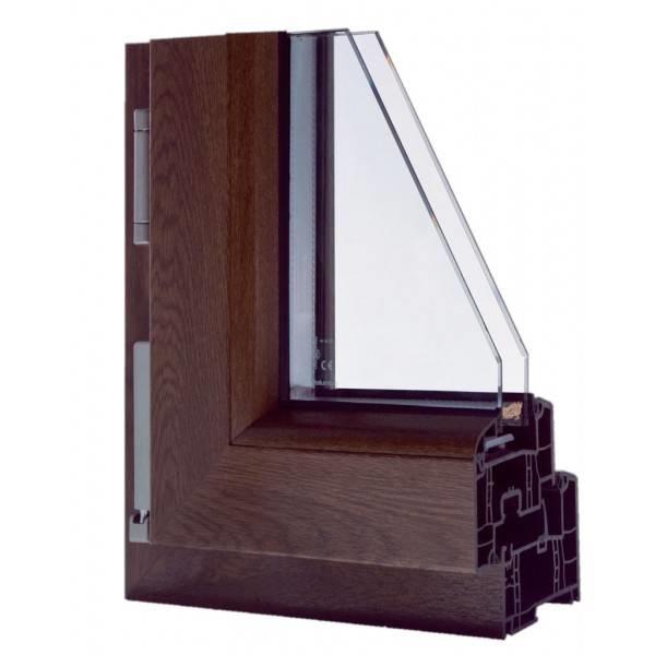 Modelli di infissi in pvc le finestre tipologie e for Infissi pvc costo